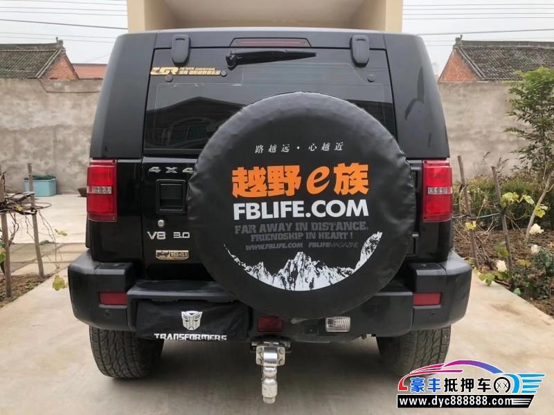 18年北京BJ40SUV抵押车出售