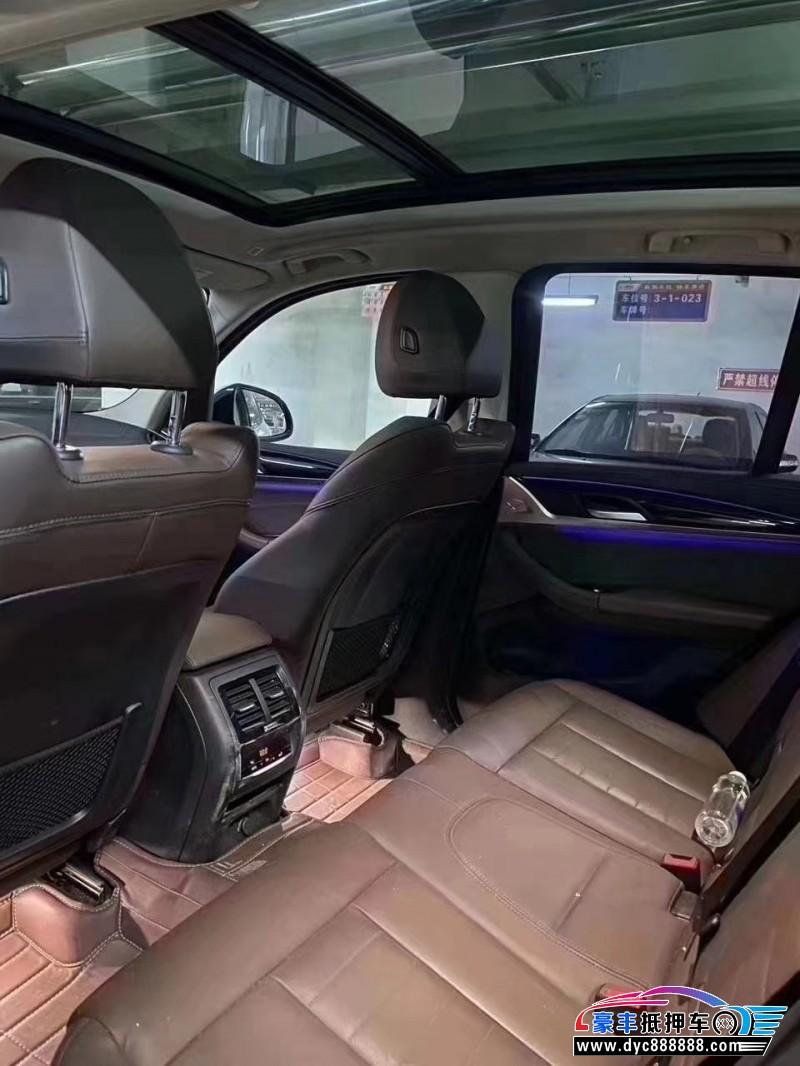 抵押车出售19年宝马X3SUV
