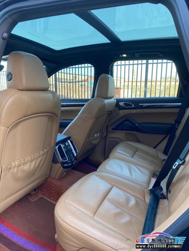 11年保时捷卡宴SUV抵押车出售