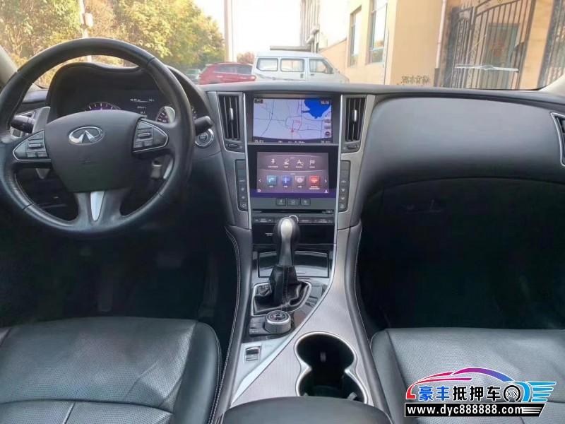 抵押车出售15年英菲尼迪Q50L轿车