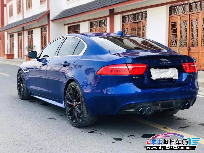 17年捷豹XE轿车抵押车出售