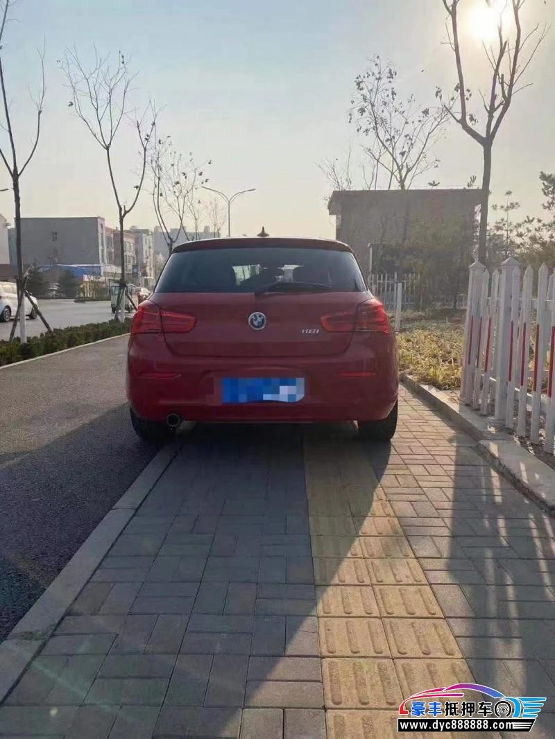 抵押车出售16年宝马1系轿车