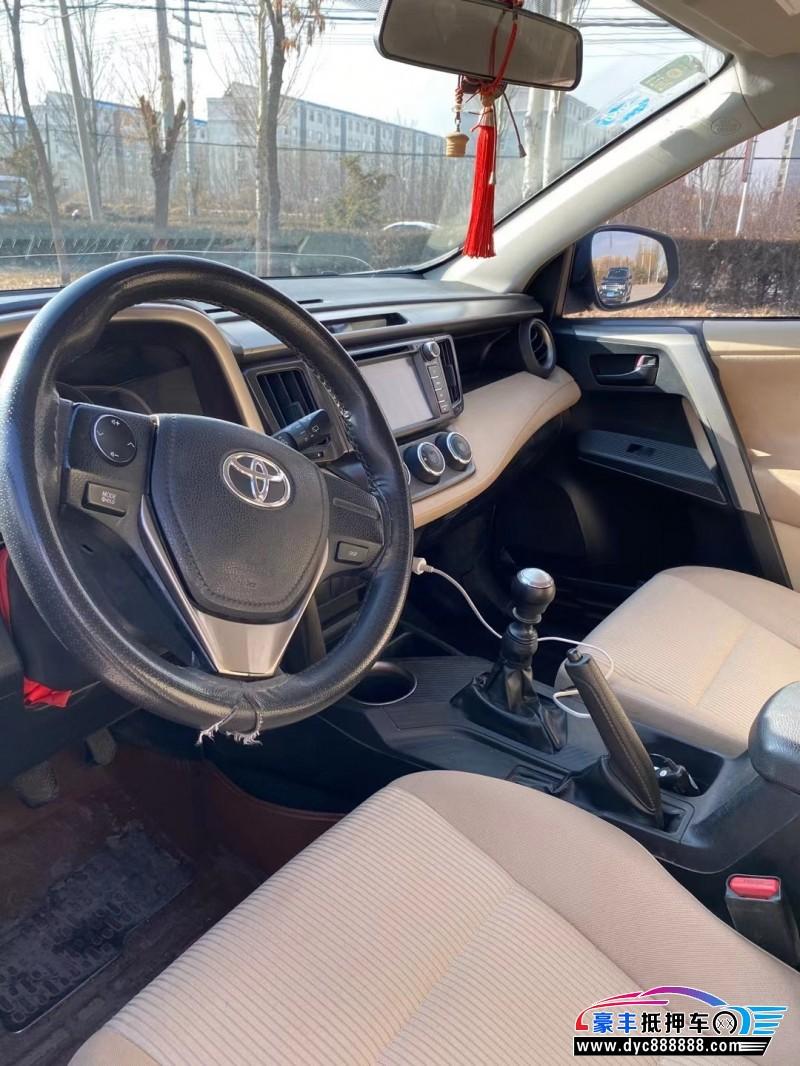 14年丰田RAV4SUV抵押车出售