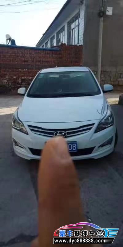 抵押车出售15年现代瑞纳轿车