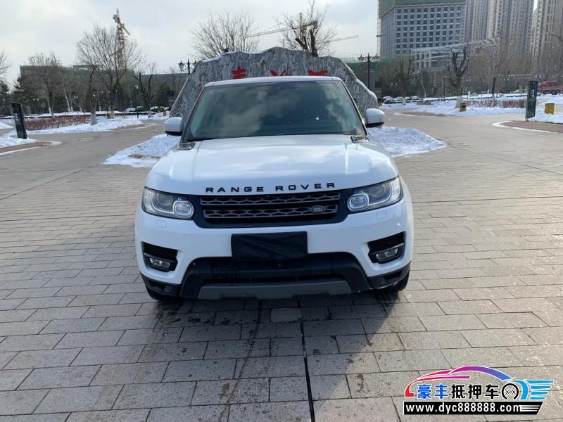 抵押车出售18年路虎揽胜运动SUV
