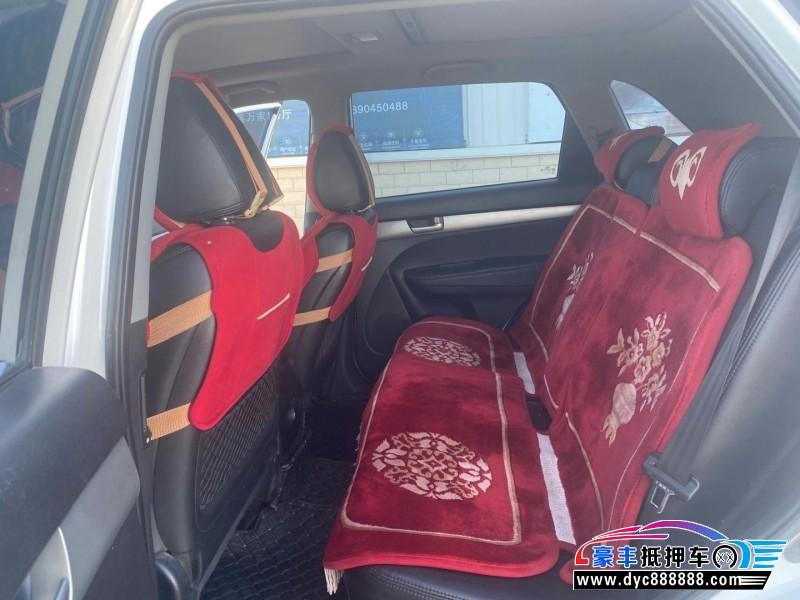 抵押车出售11年起亚索兰托SUV