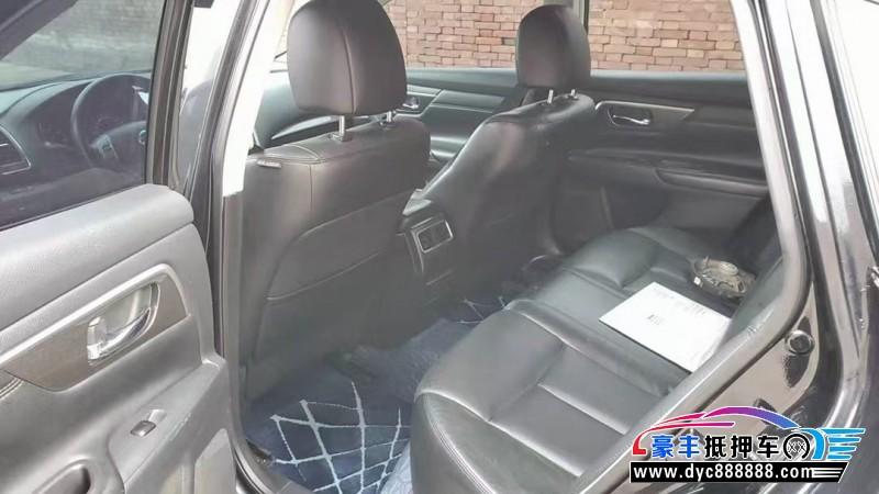 14年日产天籁轿车抵押车出售