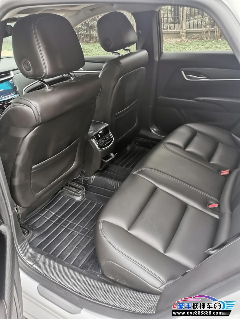 18年凯迪拉克XTS轿车抵押车出售