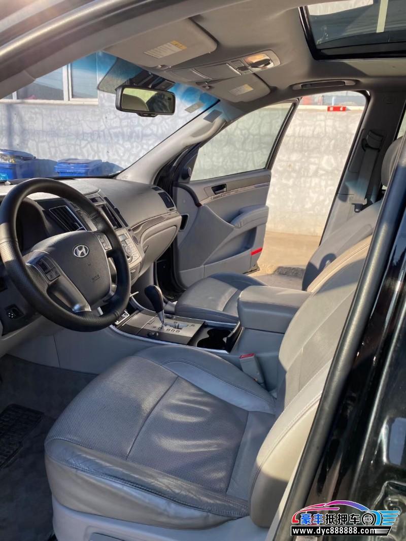 12年现代维拉克斯SUV抵押车出售