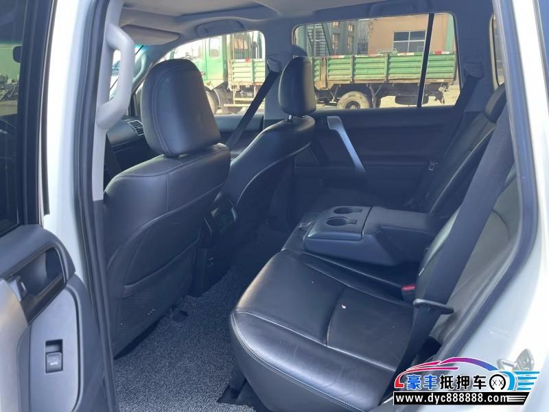 抵押车出售16年丰田普拉多SUV