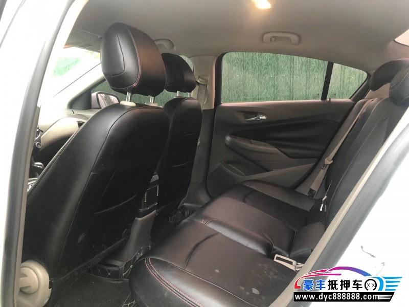 14年雪佛兰科鲁兹轿车抵押车出售