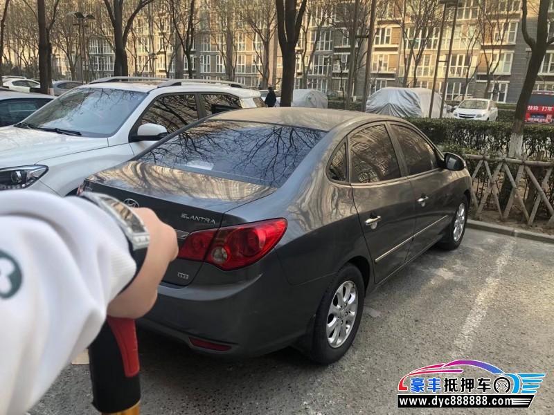 10年现代悦动轿车抵押车出售