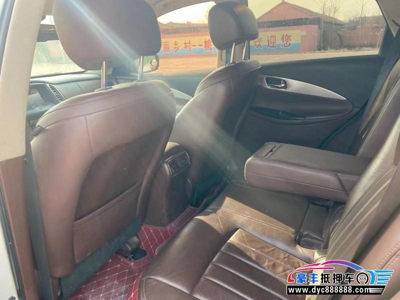 抵押车出售14年英菲尼迪QX50SUV