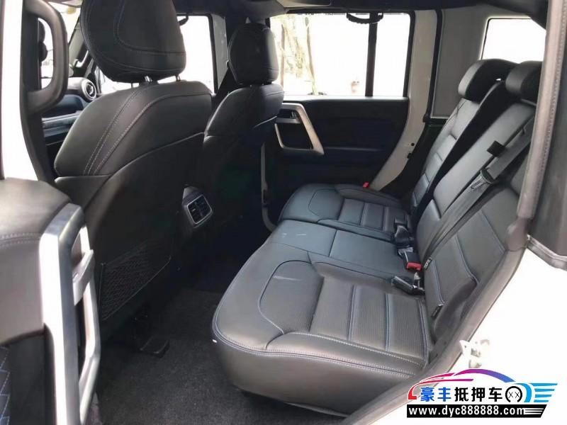 20年北京BJ40SUV抵押车出售