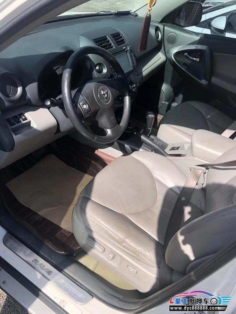 抵押车出售09年丰田RAV4SUV