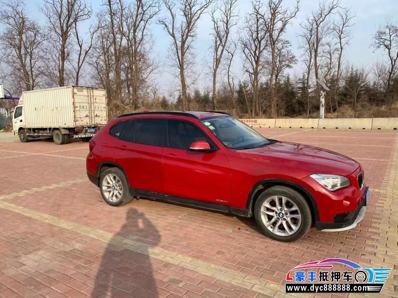14年宝马X1SUV抵押车出售