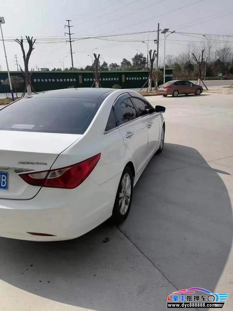12年现代索纳塔轿车抵押车出售