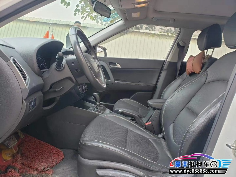 17年现代ix25轿车抵押车出售