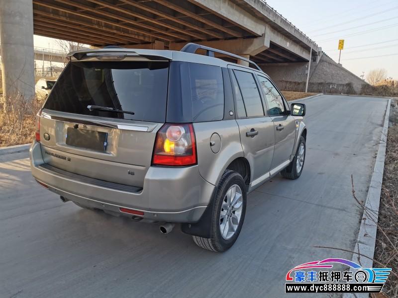 11年路虎发现神行SUV抵押车出售