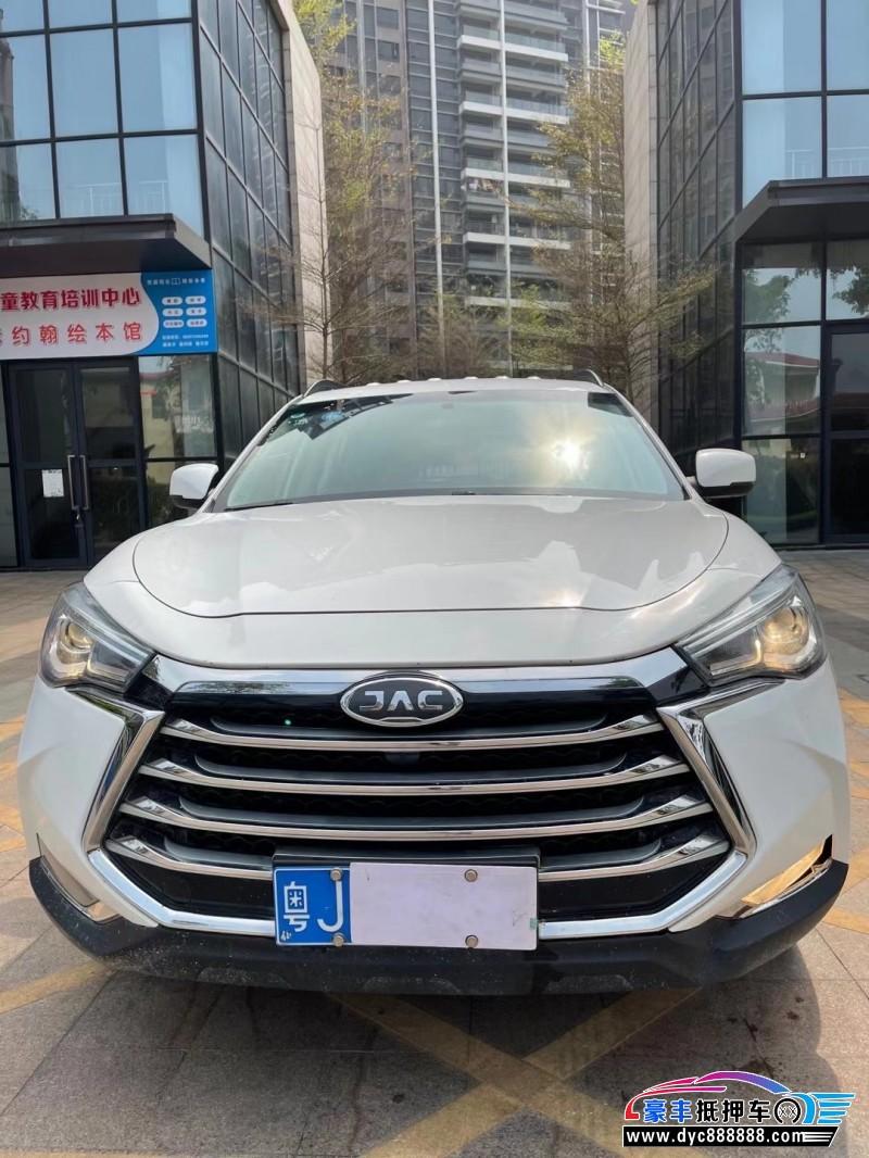 抵押车出售19年江淮瑞风S7SUV