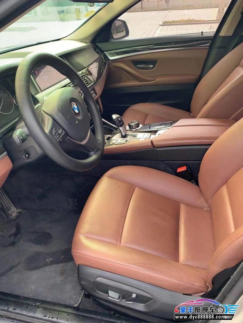 16年宝马5系轿车抵押车出售