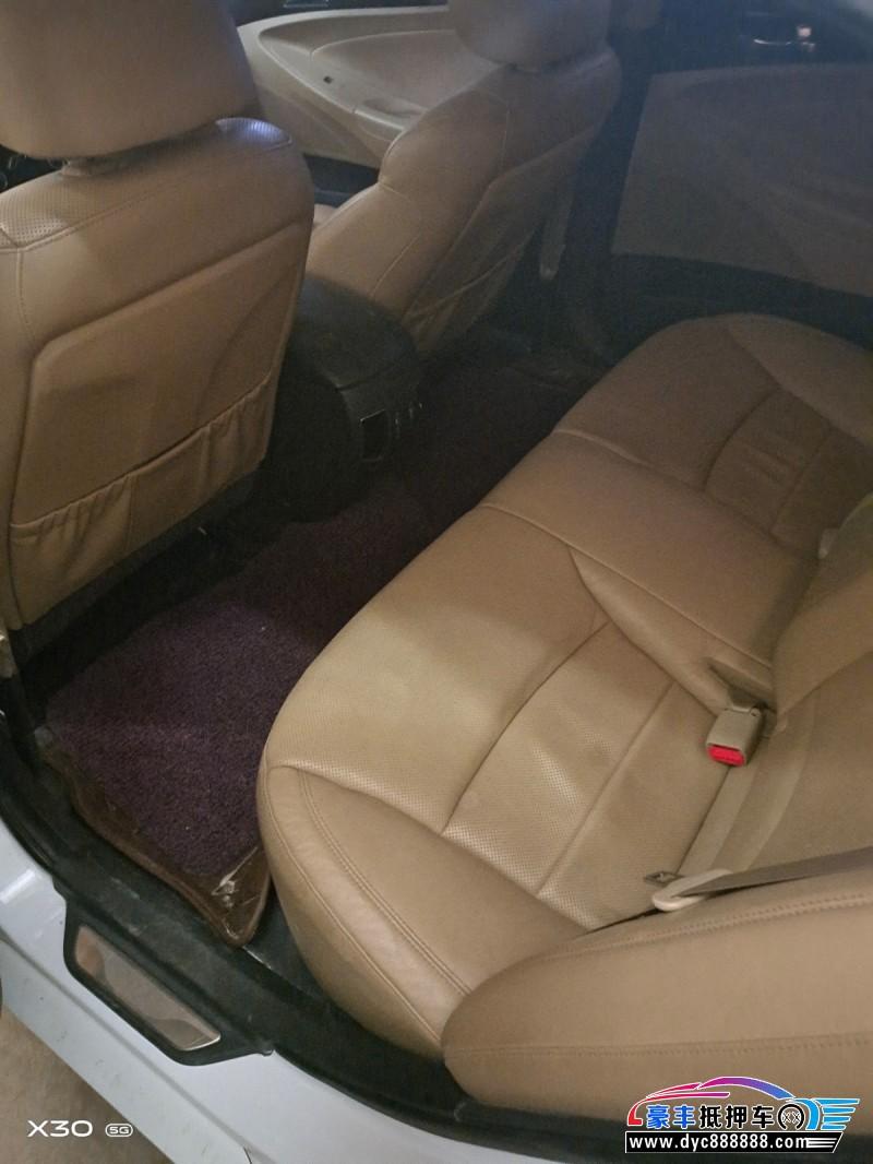 13年现代索纳塔八轿车抵押车出售