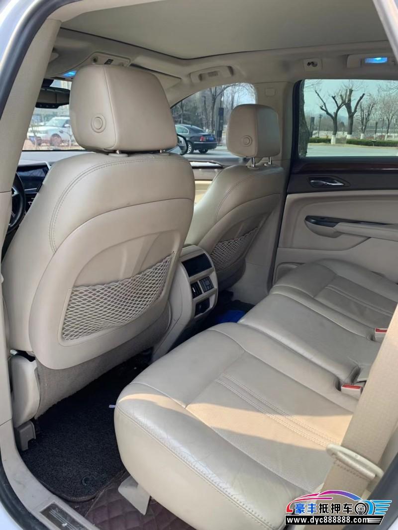 16年凯迪拉克SRX轿车抵押车出售