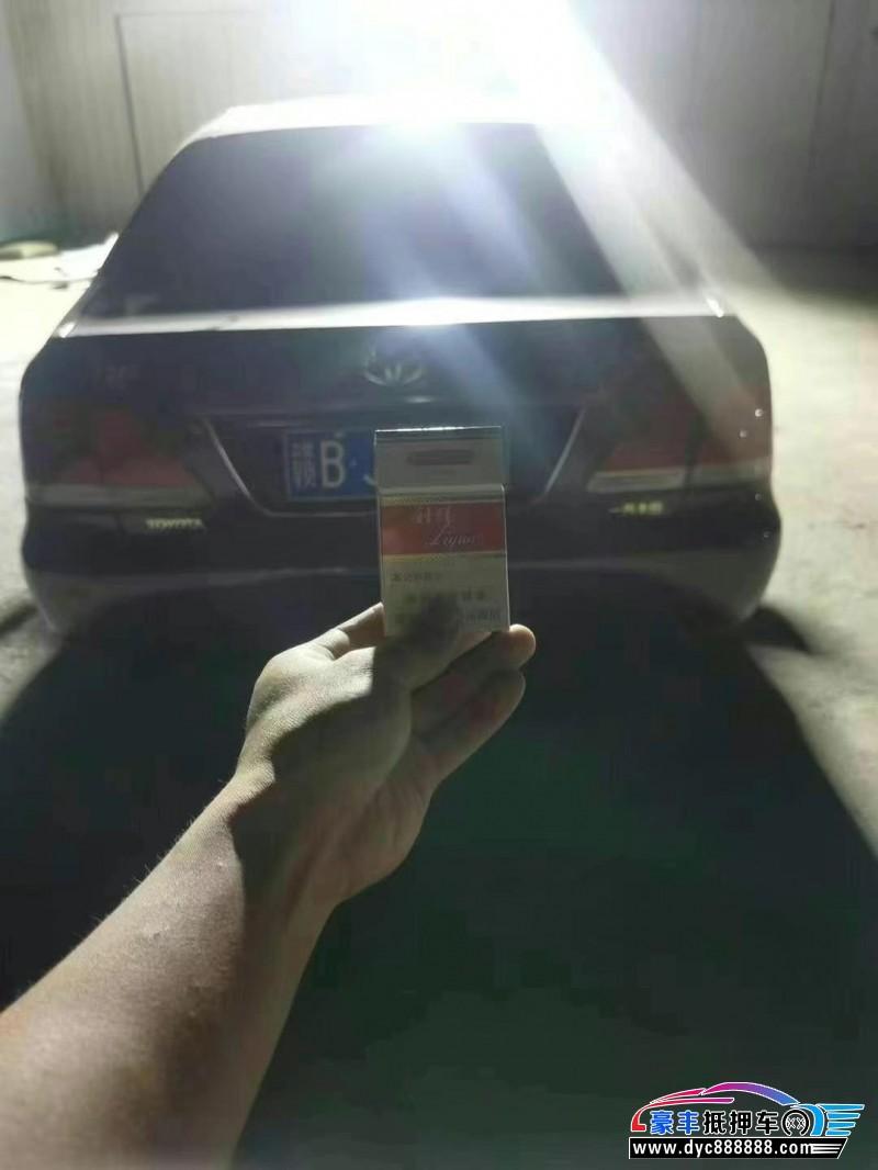08年丰田皇冠轿车抵押车出售
