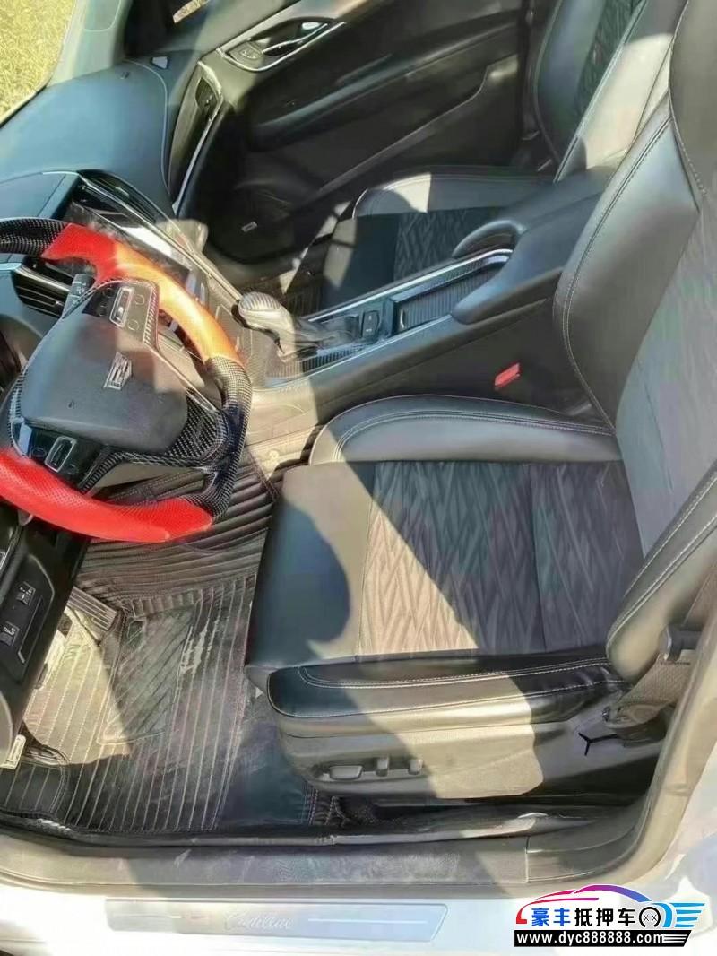 15年凯迪拉克ATS轿车抵押车出售