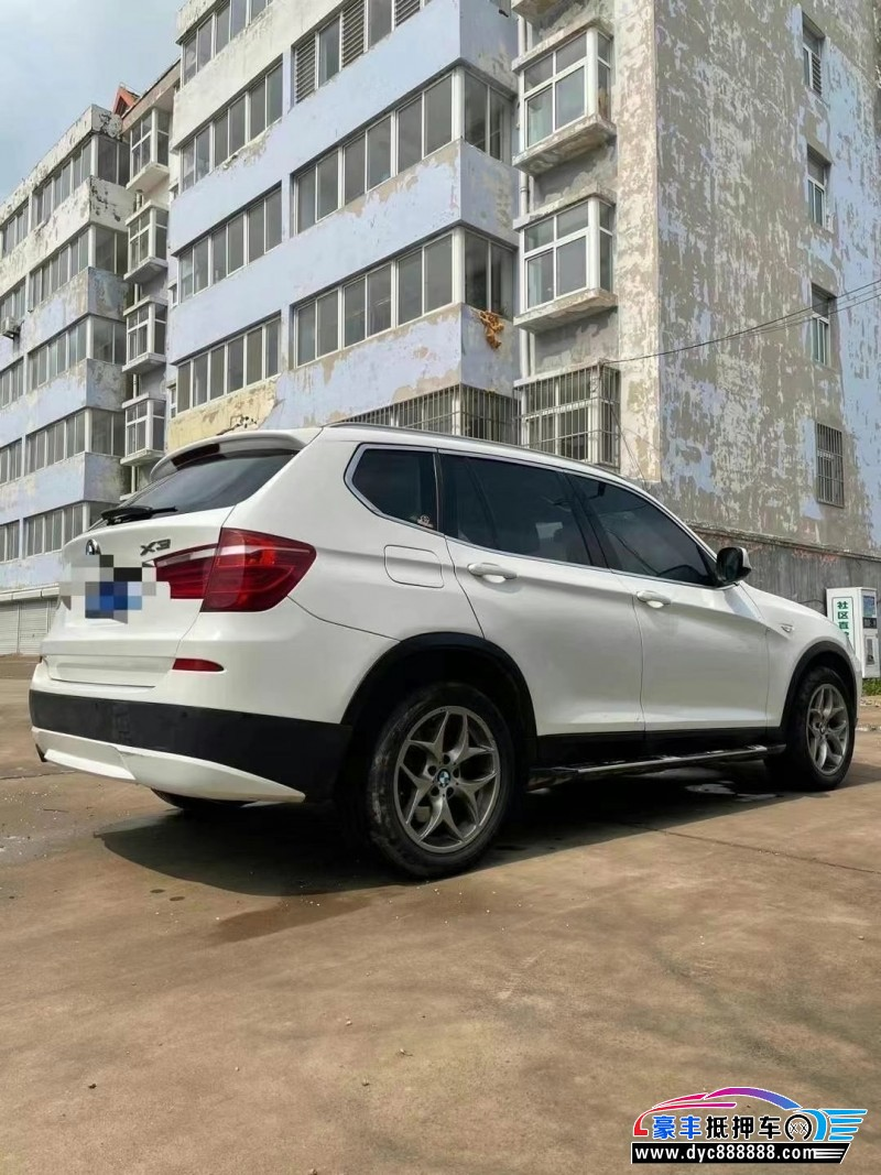 抵押车出售21年宝马X3SUV