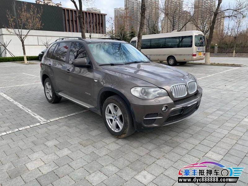 抵押车出售13年宝马X5轿车