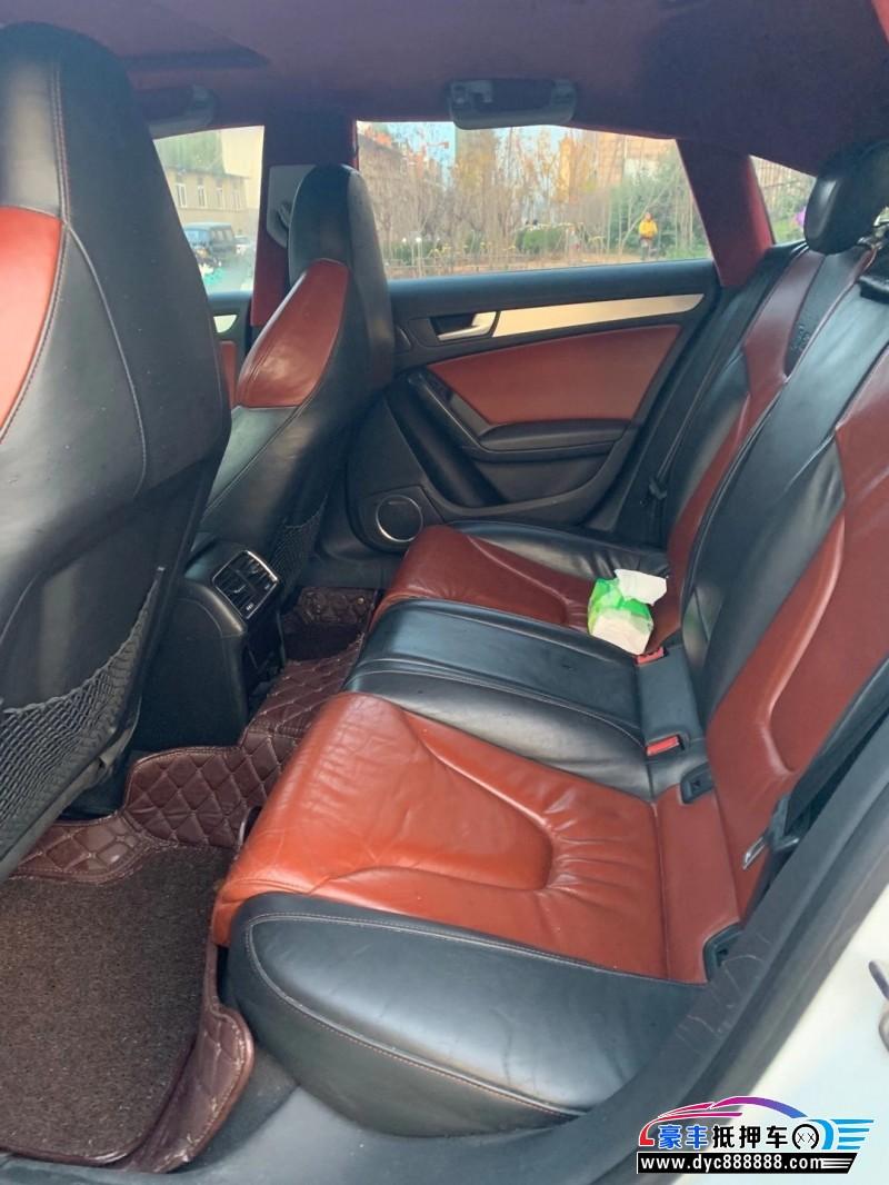 抵押车出售12年奥迪S5轿车
