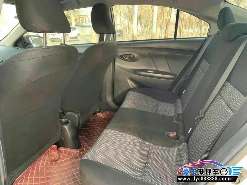 19年丰田威驰轿车抵押车出售