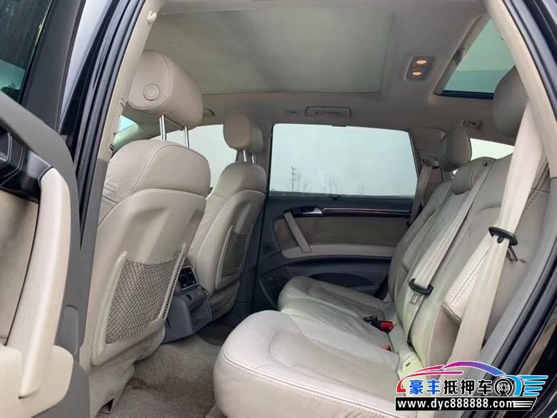 抵押车出售12年奥迪Q7SUV