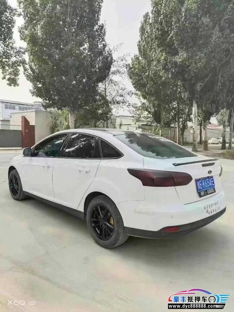 抵押车出售18年福特福克斯轿车