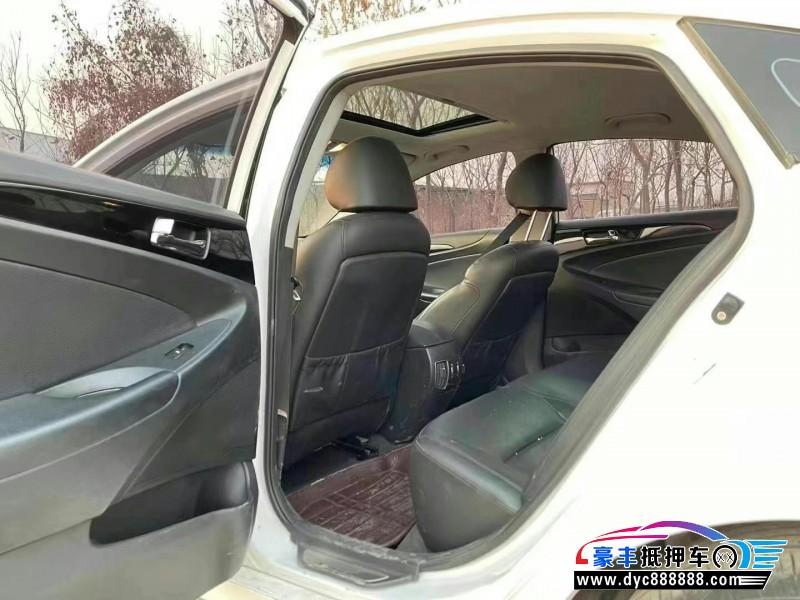 16年现代索纳塔八轿车抵押车出售