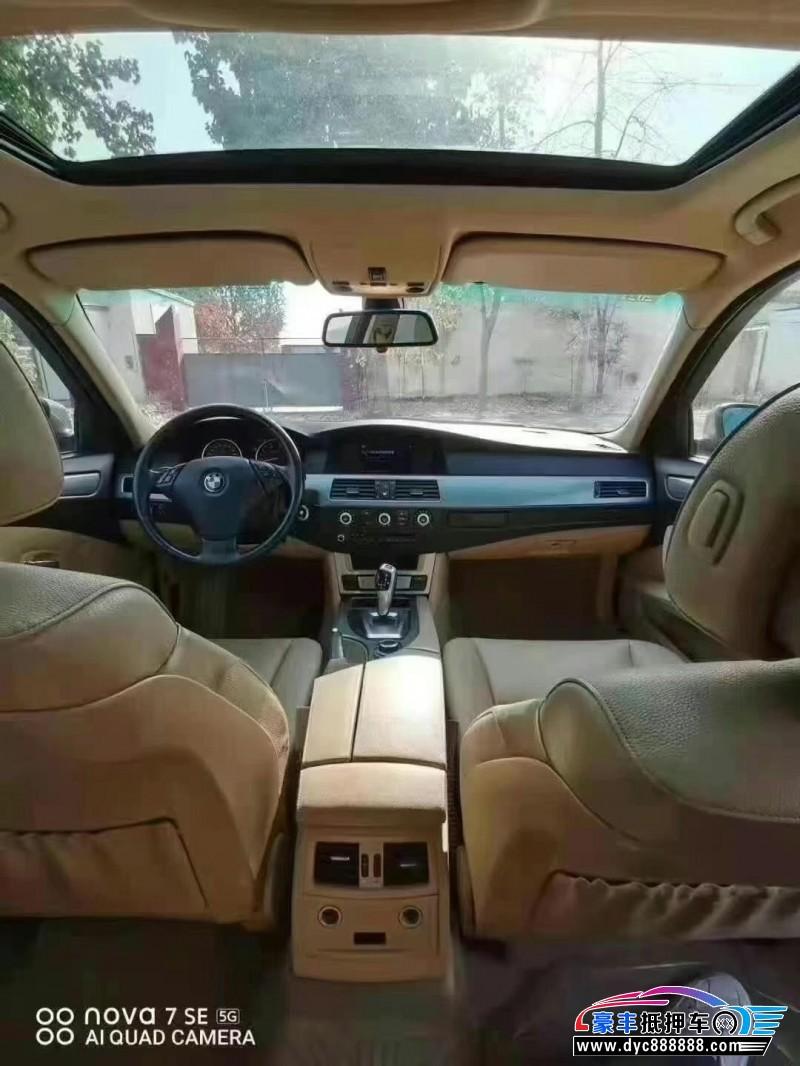 抵押车出售09年宝马5系轿车