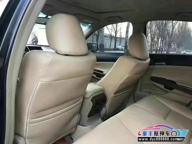 抵押车出售12年本田雅阁轿车