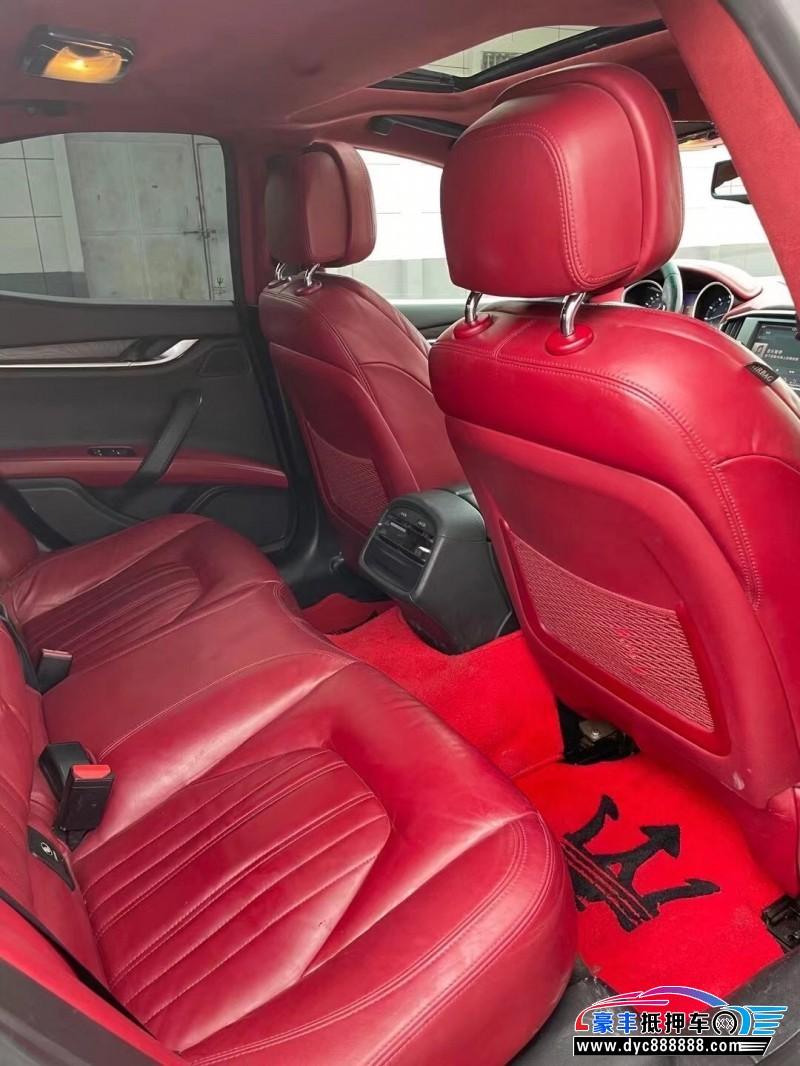 14年玛莎拉蒂Ghibli轿车抵押车出售