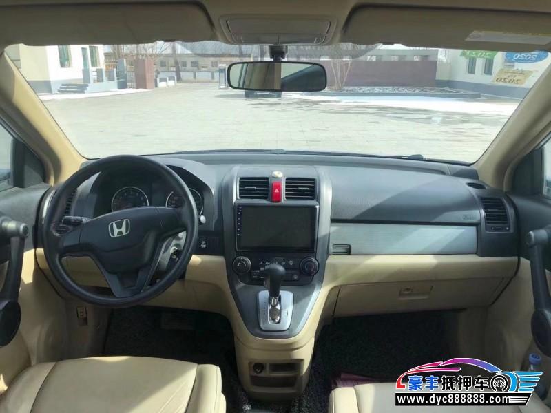 11年本田CR-V轿车抵押车出售