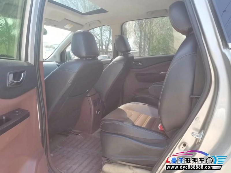 16年东风风行风行SX6SUV抵押车出售