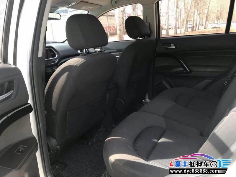 抵押车出售17年传祺GS4SUV
