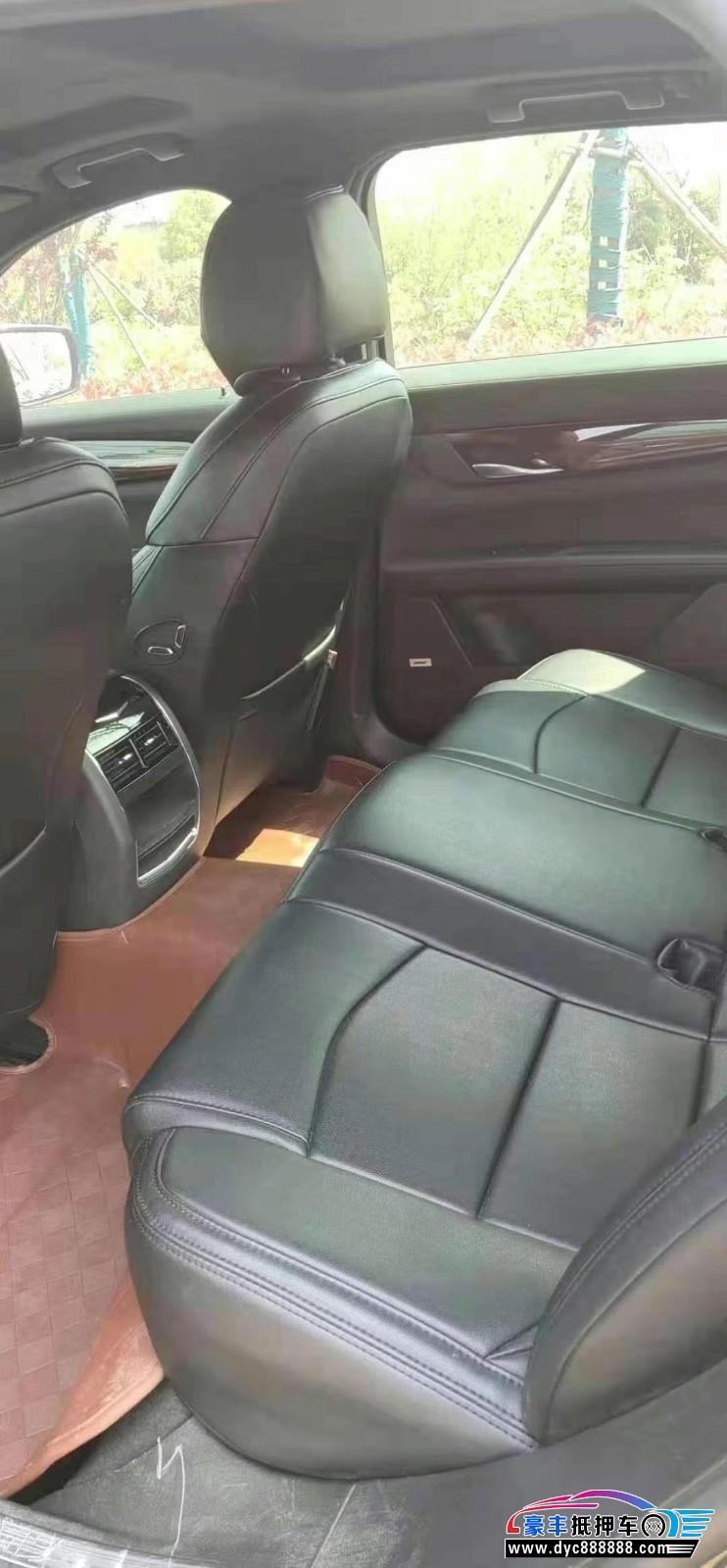 18年凯迪拉克CT6轿车抵押车出售