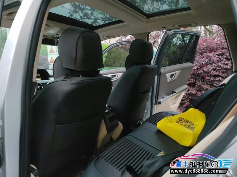 抵押车出售13年奔驰GLK轿车