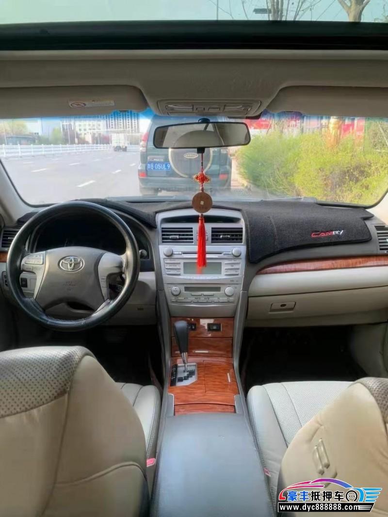 07年丰田凯美瑞轿车抵押车出售