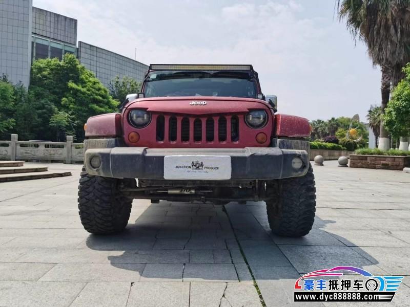 抵押车出售12年Jeep牧马人轿车