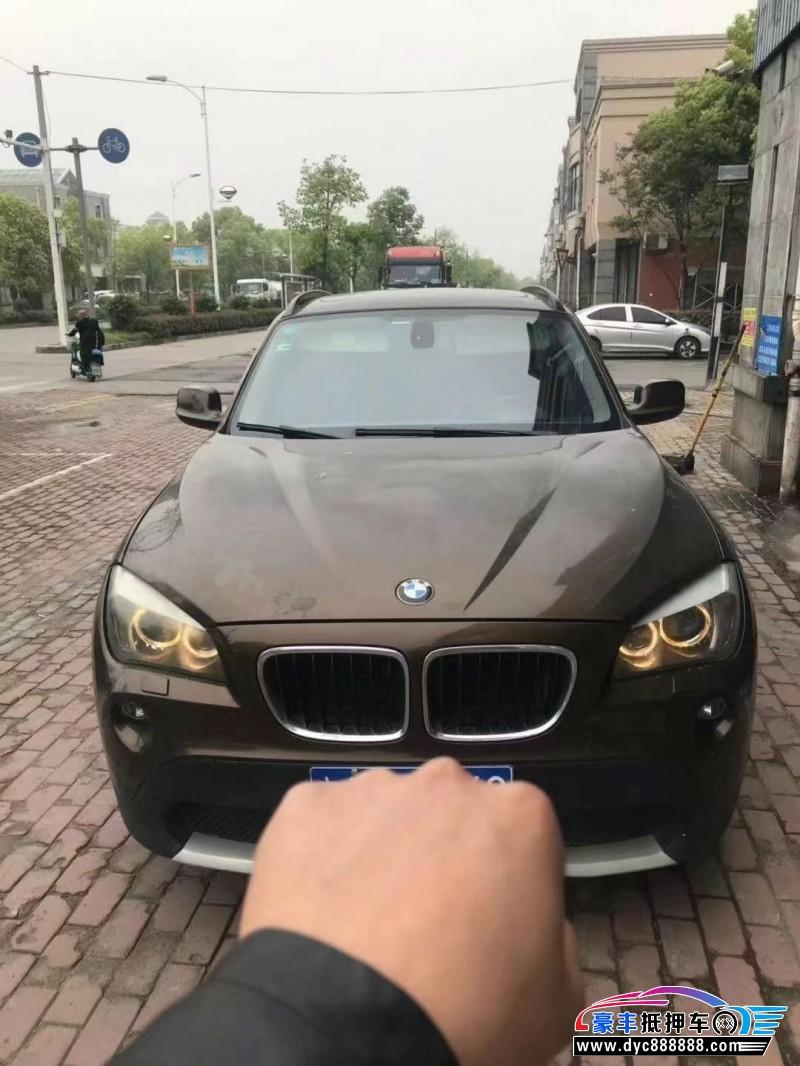 抵押车出售11年宝马X1轿车