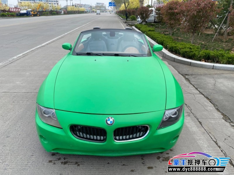 抵押车出售08年宝马Z4轿车