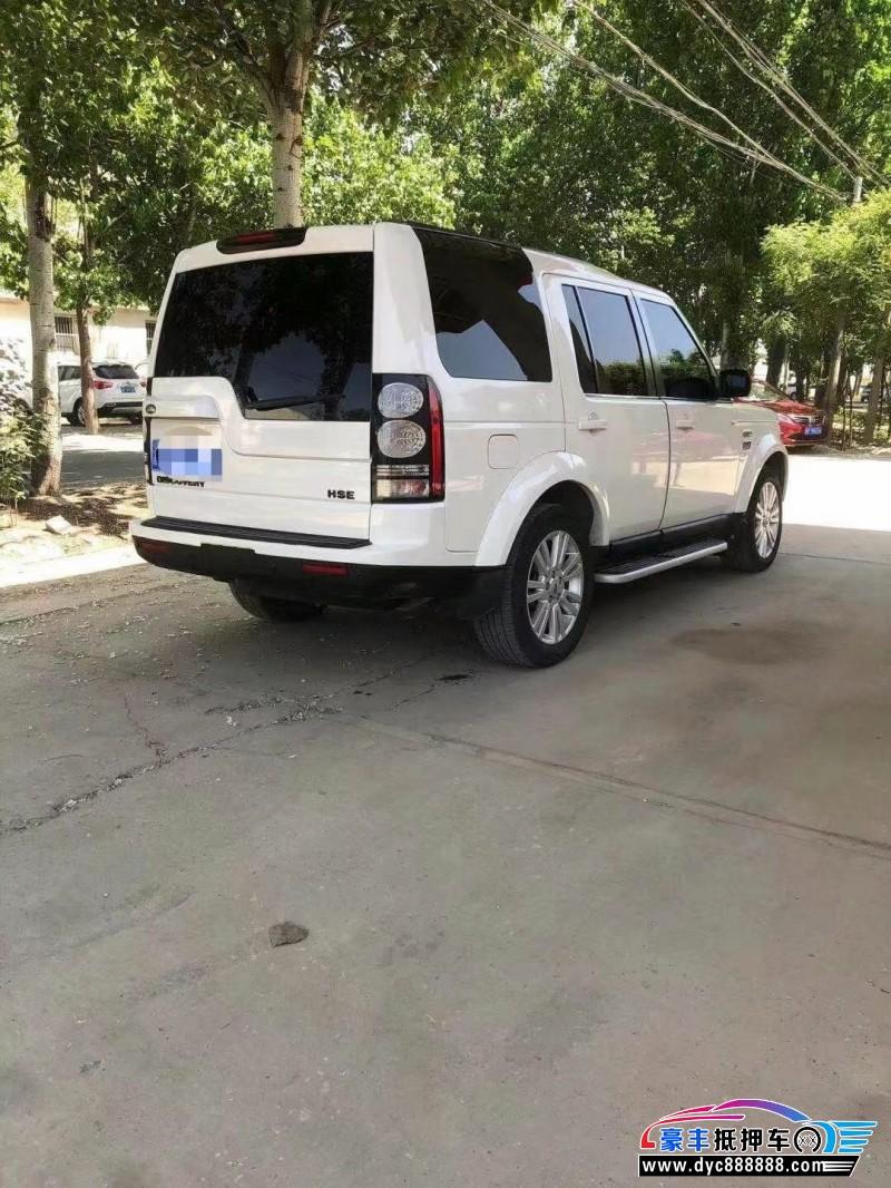 15年路虎发现4SUV抵押车出售
