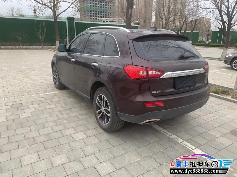 抵押车出售18年众泰T600轿车
